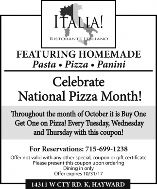 Celebrate National Pizza Month
