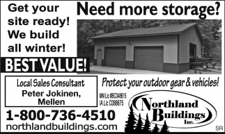 We build all winter! Best Value!