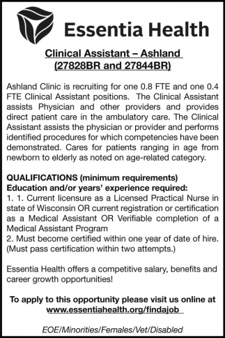 Clinical Assistant