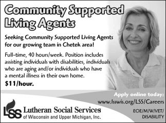 Community Suported Living Agents