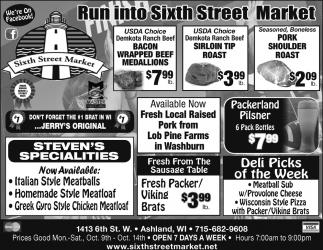 Run into Sixth Street Market