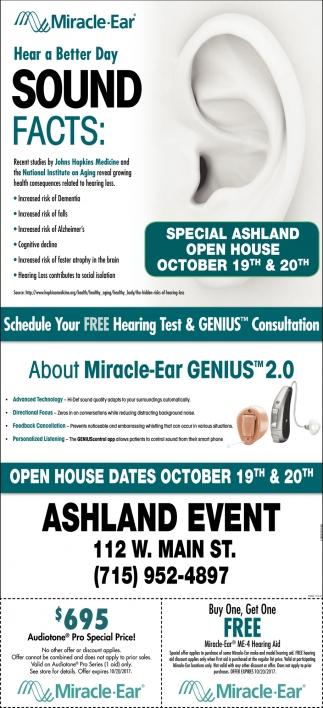Ashland Open House