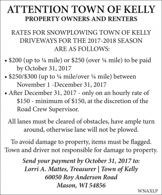 Property Owners and Renters