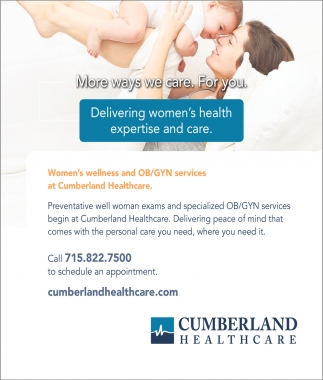 Women's wellness and OB/GYN services