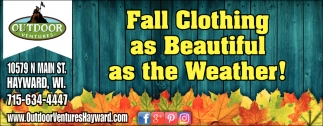 Fall Clothing