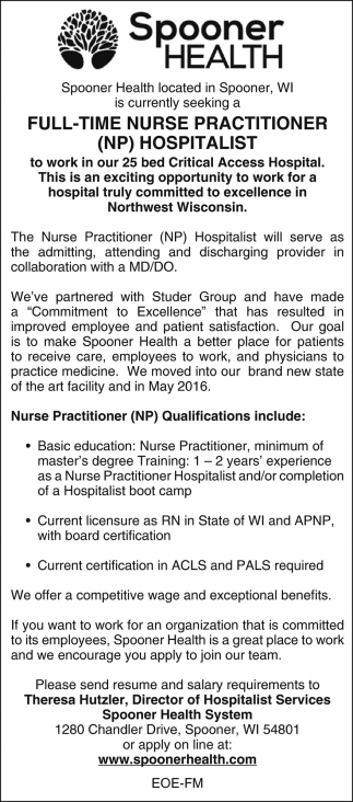 NP Hospitalist