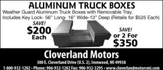 Aluminum Trcuk Boxes
