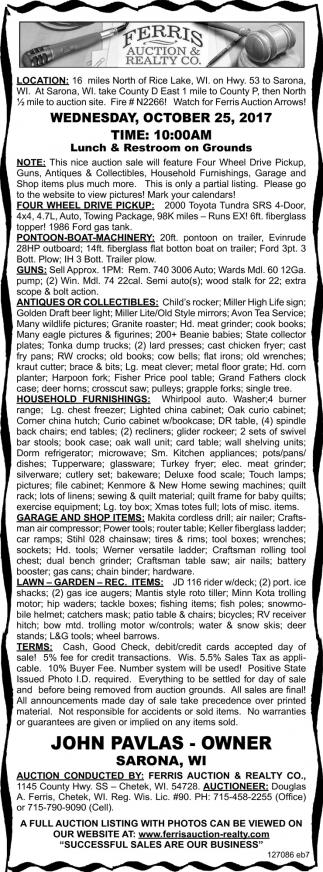 Pontoon, Guns, Antiques, Collectibles, Lawn
