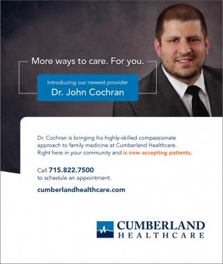 Dr. John Cochran
