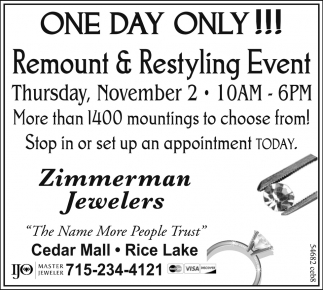 Remount & Restyling Event