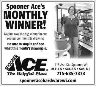 Monthly Winner!