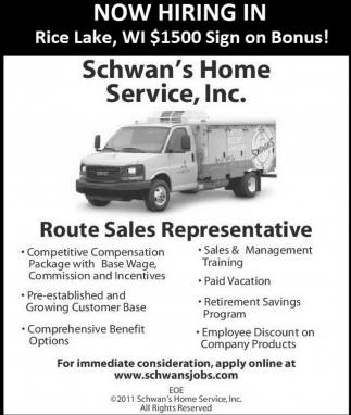 Route Sales Representatives