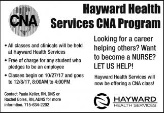 CNA Program