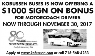 Motorcoach Drivers