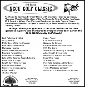15th Annual NCCU GOLF CLASSIC