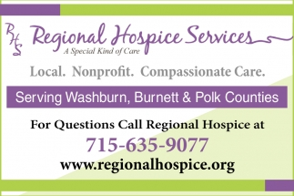 Local. Nonprofit. Compassionate Care.