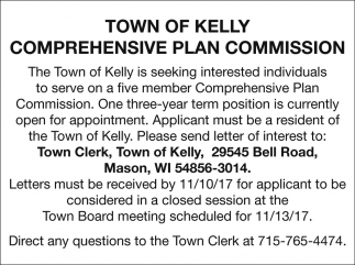 Comprehensive Plan Commission