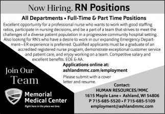 RN Positions