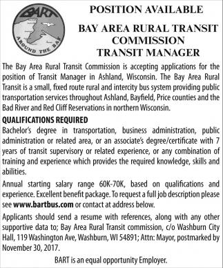 Transit Manager