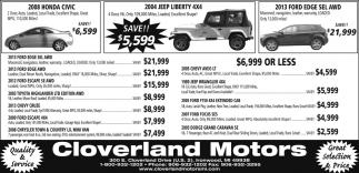Honda, Jeep, Ford