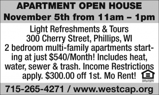 Apartment Open House