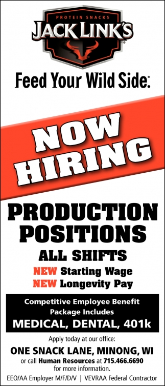 Production Positions