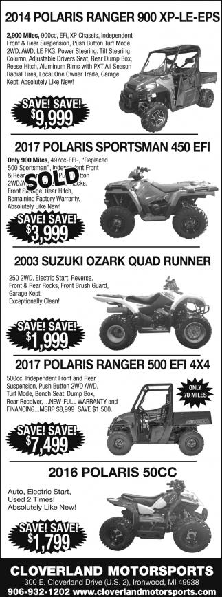Polaris, Suzuki