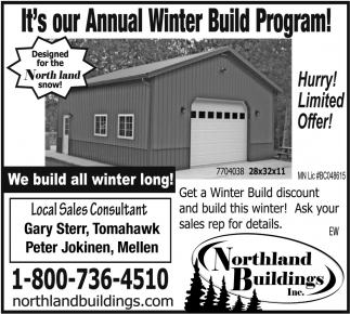 Annual Winter Build Program