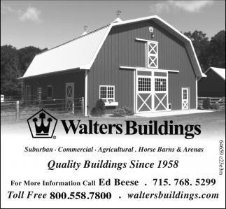 Suburban, Commercial, Agricultural, Hose Barns & Arenas