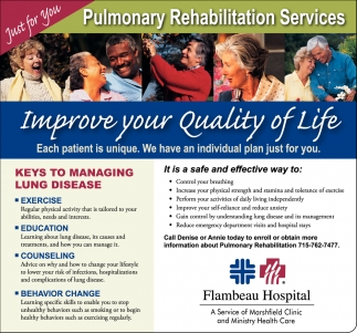 Pulmonary Rehabilitation Services