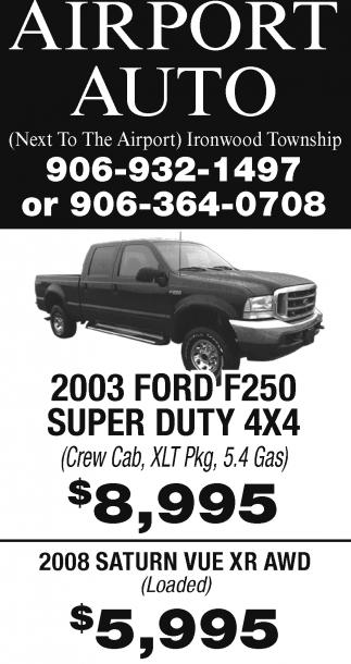 2003 Ford F250 Super Duty 4x4