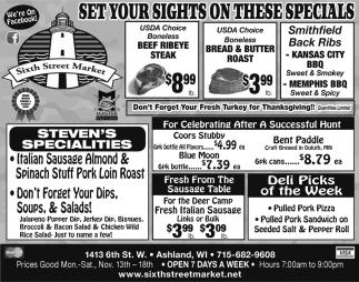 Steven's Specialties