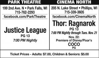 Justice League - Thor: Ragnarok