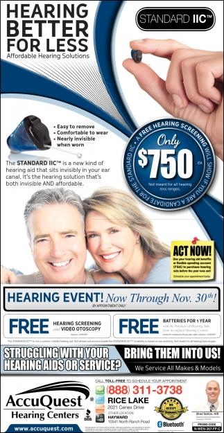 Hearing Better For Less