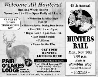 49th Annual Hunters Ball