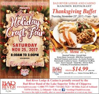 Annual Holiday Craft Fair