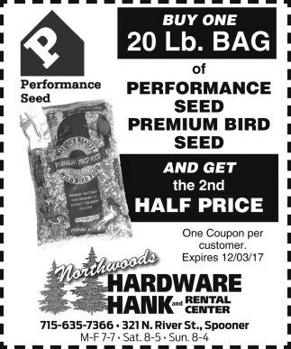 Performance Seed - Premium Bird Seed