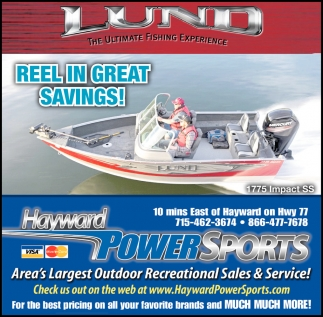 REEL IN GREAT SAVINGS!