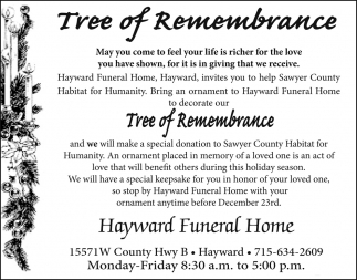 Tree of Remembrance