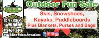 Outdoor Fun Sale
