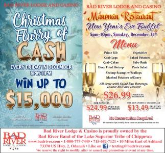Christnas Flurry of Cash