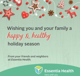 Happy & Healthy Holiday Season