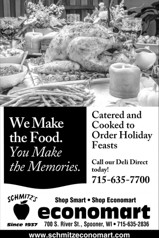 Catered and Cooked to Order Holiday Feasts