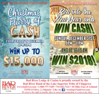 Christmas Flurry of Cash / Win Cash