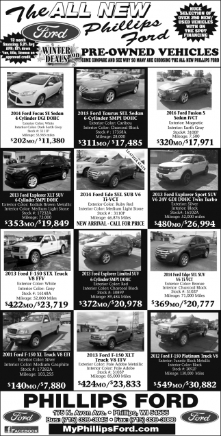Pre-Owned Vehicles