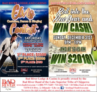 Elvis Contest / Win Cash