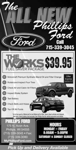 The Works Fuel Saver Package $39.95