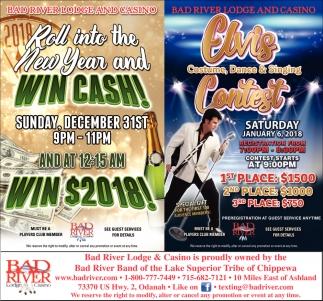 Win Cash! / Elvis Contest