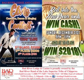 Elvis Contest / Win Cash!