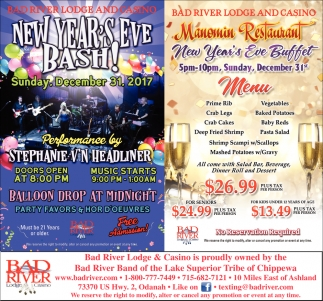New Year's Eve Bash / New Year's Eve Buffet